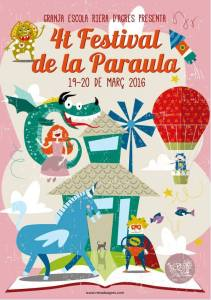 Festival de la paraula_cartell